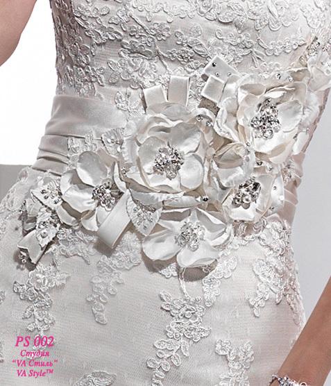 Украшения свадебного платья своими руками
