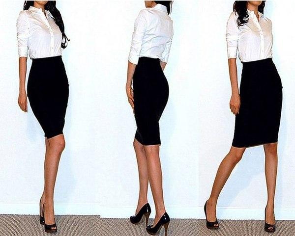 Модные юбки для офиса