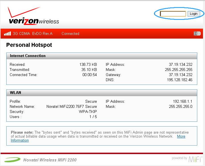 Как настроить 3g wifi модем - роутер Novatel MIFI 2200