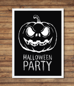 "Постер ""Halloween Party"" (2 размера)"