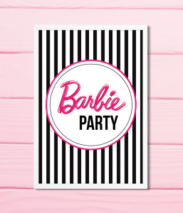 "Постер ""Barbie Party"""