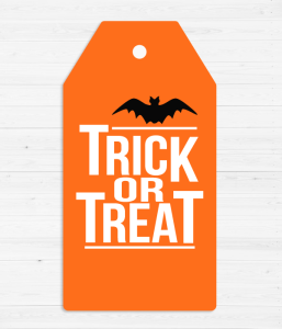 "Ярлычок для подарка ""TRICK OR TREAT"""