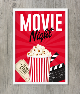 "Постер ""Movie Night"""