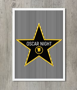 "Постер ""Oscar Night"""