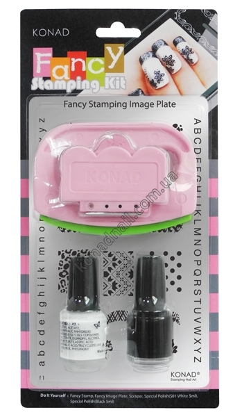 Набор для стемпинга KONAD Fancy Stamping Kit II