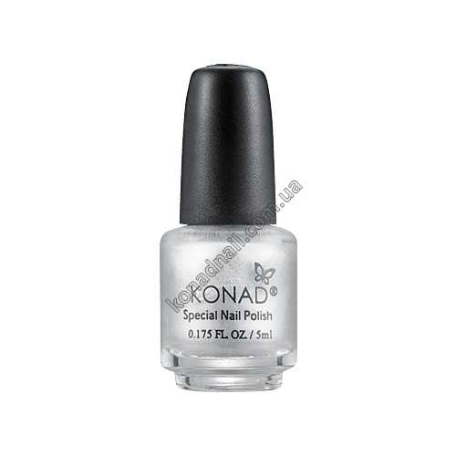 Лак для стемпинга Konad Silver (5ml)