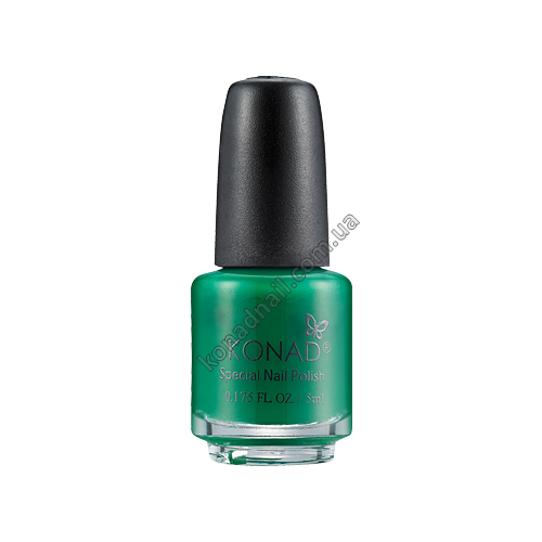 Лак для стемпинга Konad Green (5ml)