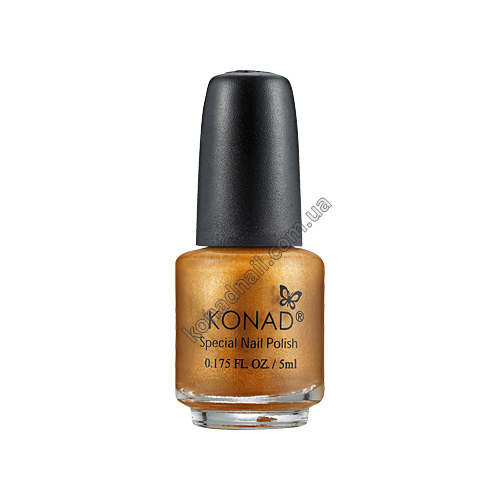 Лак для стемпинга Konad Gold Brown (5ml)