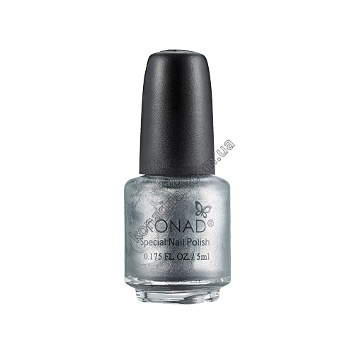 Лак для стемпинга Konad Powdery Silver (5ml)