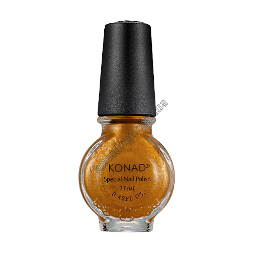 Лак для стемпинга Konad Gold Brown (11ml)