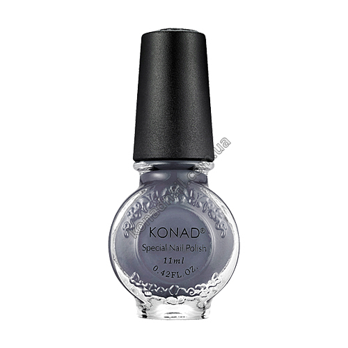 Лак для стемпинга Konad Gray (11ml)