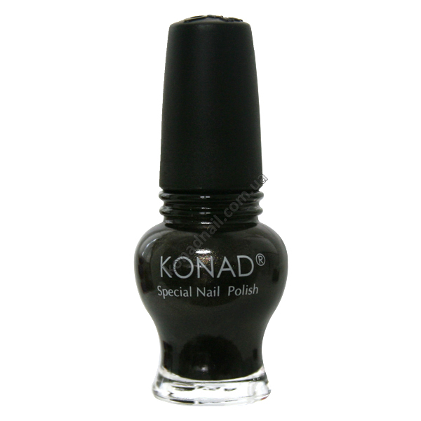 Лак для стемпинга Konad Gold Black-серии Princess 12 ml.