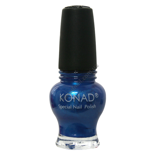 Лак для стемпинга Konad Blue Pearl серии Princess 12 ml.