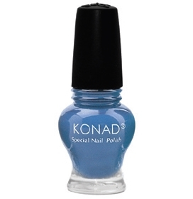 Лак для стемпинга Konad Chic Blue-серии Princess 12 ml.