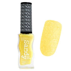 Лак с эффектом песка Konad Sandy Nail Polish Pastel Yellow 9.5 ml