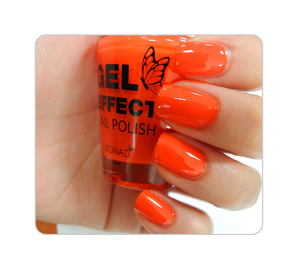 Лак для ногтей Konad Gel Effect Nail Polish - 05 Tangerine Orange 15 ml.
