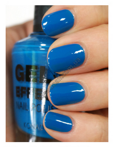Лак для ногтей Konad Gel Effect Nail Polish - 25 Deep Sea Blue 15 ml.