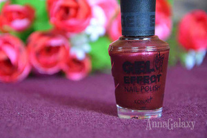 Konad Gel Effect Nail polish лак для ногтей Vampaire Red