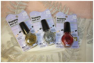 Konad Spesial Top Glitter Silver, Gold, Pink / review