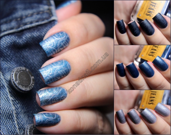 Konad Classic Jeans Nail Collection