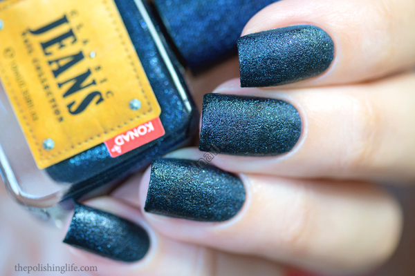 Konad Jeans - Midnight Blue Jeans swatches and review