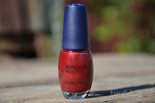 Konad regular nail polish лак для ногтей Shining Wine