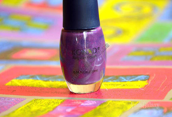 Konad regular nail polish Shining Deep Purple