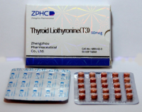 Thyroid  Liothyronine (T3) 50 mcg.