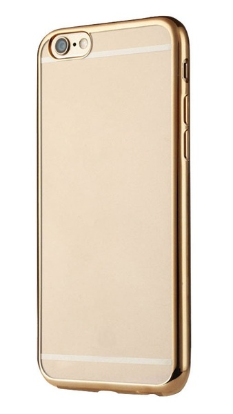 Чехол-накладка Baseus iPhone 6 Plus/6S Plus Shining Case Transparent Gold