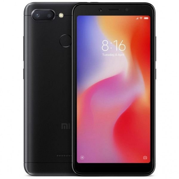 Смартфон Xiaomi Redmi 6 4/64 Black