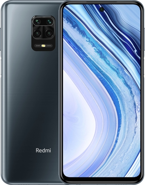 Смартфон Xiaomi Redmi Note 9 Pro 6/64GB Interstellar Grey Европа UA UCRF
