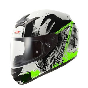 Шлем LS2 FF352 Rookie One Black-Fluo Green