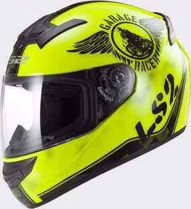 Шлем  LS2 FF352 ROOKIE FAN HI-VIS YELLOW