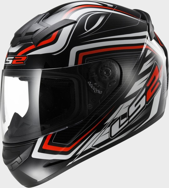 Шлем LS2 FF352 ROOKIE RANGER BLACK RED