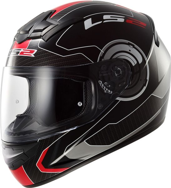 Шлем LS2 FF352 ROOKIE ATMOS Gloss Black-Red
