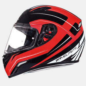 Мотошлем MT Helmets Mugello Maker GLOSS BLACK RED