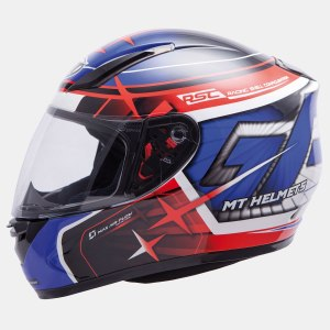 Мотошлем MT Helmets REVENGE REPLICA GP(blue-red-black)