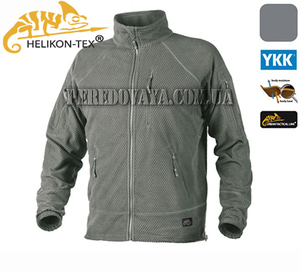 Флисовая куртка Alpha Grid Fleece Jacket - Foliage Green