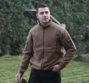 Куртка флисовая Liberty Heavy Fleece Jacket  койот