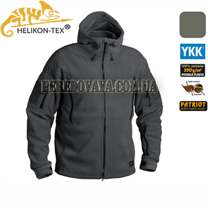 Флисовая куртка Patriot Heavy Fleece Jacket - Shadow Grey
