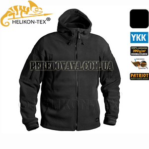 Флисовая куртка Patriot Heavy Fleece Jacket - черный
