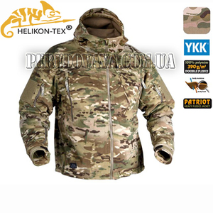 Флисовая куртка Patriot Heavy Fleece Jacket  Мультикам