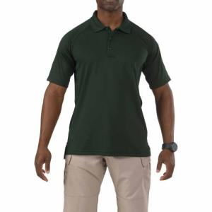 Performance Polo - Short Sleeve, Synthetic Knit - L.E. Green