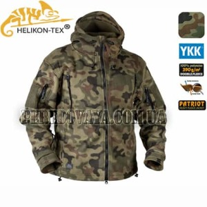 Флисовая куртка Patriot Heavy Fleece Jacket  PL Woodland