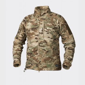 Куртка флисовая Alpha TACTICAL Grid Fleece - мультикам