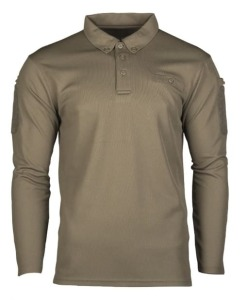 "Поло тактическое ""TACTICAL LONG SLEEVE POLO SHIRT QUICK DRY"""