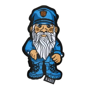 "Нашивка ""5.11 Police Gnome Patch"""