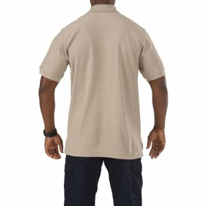 Поло тактическое 5.11 Tactical UTILITY SHORT SLEEVE POLO - Silver Tan