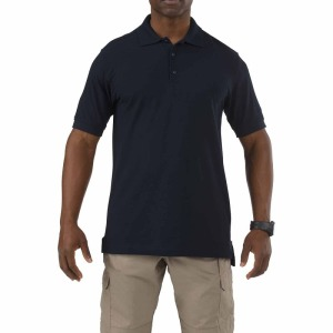 Поло тактическое 5.11 Tactical UTILITY SHORT SLEEVE POLO - Black