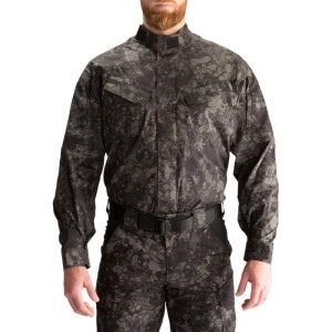 "Рубашка тактическая ""5.11 GEO7™ Night STRYKE TDU® LONG SLEEVE SHIRT"" Night"